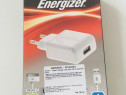 Incarcator priza Usb + cablu date Energizer iPhone / iPod