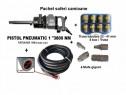 Pistol pneumatic 3800 Nm +10 m furtun+mufe gigant+trusa tub.