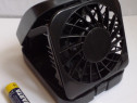 Mini ventilator de voiaj/birou, funcțional, puțin folosit