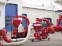 Transportor pneumatic pt cereale 15kW, 14,5to/h,cu aspiratie