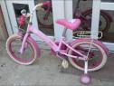 Bicicleta pentru copii cu roti ajutătoare
