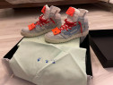Adidasi Off-white 3.0 off court tech canvas sneakers
