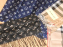 Saluri/esarfe firma LouisVuitton,Burberry,matase-France