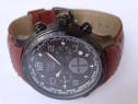 Ceas de mana barbat aviator avw1266g153 maro original crono