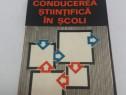 Conducerea științifică în școli/ ioan g. borca/1978/