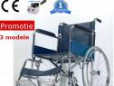 Carucior dizabilitati Scaun Rotile - Nou =Transport Gratuit