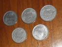 Lot 5 monede 100 lei (Mihai I / 1943)
