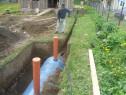Montam fose ecologice,din fibra si din beton cu hidroizolati