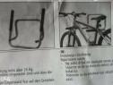 Suport pentru bicicleta, cu fixare in perte