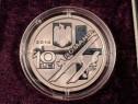 Monedă de Argint 100 Ani Primul Avion Henri Coandă 2010 1oz