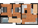 Rahova – Preț promoțional, Bloc 2017 - Apartament 3 camere