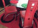 Set 4 scaune piele ecologică