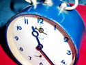 1213-Kienzle-ceas masa vechi metalic functional stare buna.