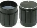 Buton pentru potentiometru, 15mm, aluminiu - 127526