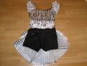 Costum carnaval serbare rochie dans balet de 8-9 ani