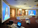 Inchiriere videoproiectoare,tv,sistem traducere simultana