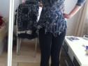 Bluza animal print , mărimea s, model deosebit
