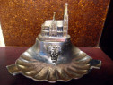 562-Scrumiera cu Domul din Koln in metal.