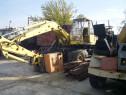 Excavator Atlas pe pneuri cu cupă de 1,2 mc