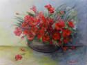 Flori 15-pictura ulei pe panza