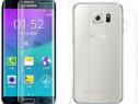 Samsung S6 Edge - Folie Fata si Spate Curbata Din Silicon