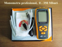 Manometru digital gaze_profesional, 0-350 Mbari