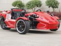 Car Triker Ztr 250cc Legal-City Nou,Garantie Culoare:Rosu