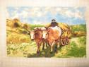 Goblen carul cu boi