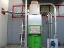 Sistem de aspirare si ventilatie pentru ambalaj flexibil