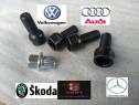 Set Prezoane antifurt + cheie Audi Vw Golf, Passat, Jetta,