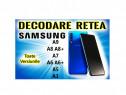 Decodare retea SAMSUNG Galaxy A9 A8 A8+ A7 A6 A6+ A5 A3