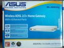 Router wireless asus + adsl modem wl-am604g