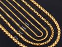 Lanturi unisex / Gold Stainless Steel Filled/ Diverse modele