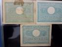 Raritate.3 buc. 100 lei,1945