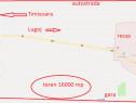 Teren in Recas 16000mp