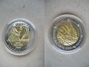A196-UNC- Medalia moneda Crna Gora 2 eurocent.