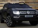 Masina Electrica pentru 2 copii VW Amarok 12V cu Roti EVA