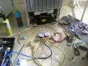 Reparatii , vitrine frigorifice, frigidere, incarcare freon