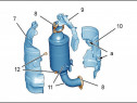 Protectie termica catalizator Peugeot 308