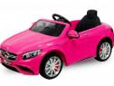 Masina electrica Mercedes S63 2x 35W 12V, Roti MOI #Pink