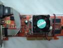 Placa Video AGP ATI Radeon 9250 128 Mb DVI-VGA-TV-OUT