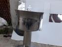 Cristelnita pentru botez din inox nou la 80 litri