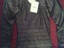 Bodysuit dama PNK Casual negru glossy editie lux mar.34(nou)