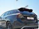 Eleron spoiler cap Volvo V60 Polestar Facelift 2014-2018 v1