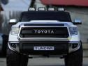 Masina electrica Toyota Tundra 2x45W 12V cu Roti MOI #ALB