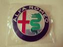Emblemă capotă/portbagaj Alfa Romeo diametrul de 74 mm