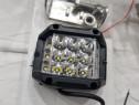 Proiector LED Auto Offroad Dreptunghiular 60W/12V-24V, 5100
