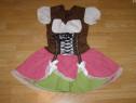 Costum carnaval serbare rochie traditionala bavareza 9-10
