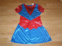 Costum carnaval serbare spiderman spidergirl 7-8 ani