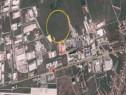 Teren zona industrială vest Sibiu 10.000 mp, deschidere 53ml